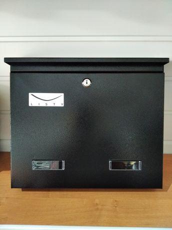 Skrzynka pocztowa na listy A4 C4 szara czarna brązowa duża klasyczna