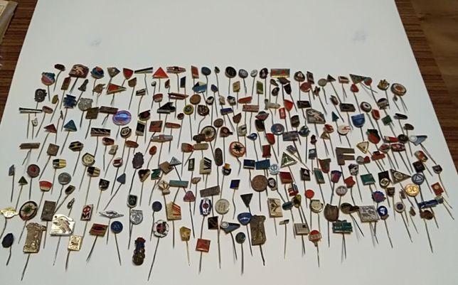 Wpinki, przypinki, piny, znaczki, kolekcja, czechosłowackie, PRL