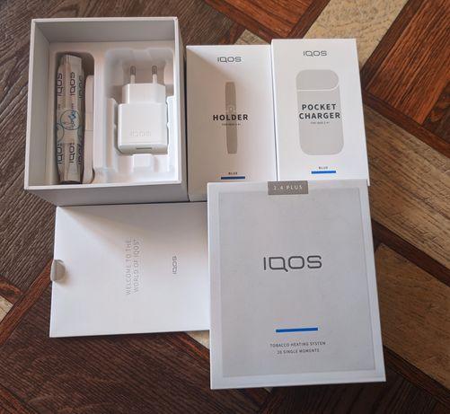 Iqos 2.4+ Plus синий цвет, новый, лимитированная версия