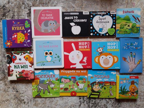 Książeczki dla dziecka kontrastowe, Hop hop
