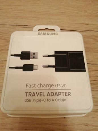 Sprzedam nieużywaną ładowarkę USB-C 15W Samsung Model: EP-TA20EBECGWW