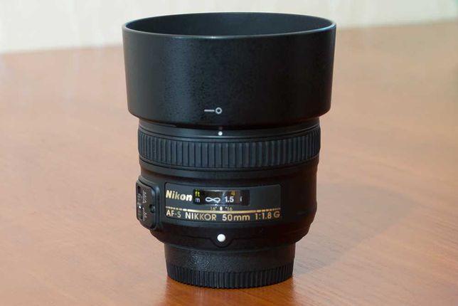 Объектив Nikkor AF-S 50mm f/1.8 G Nikon