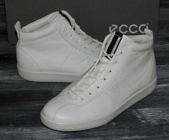 Ecco Soft 1 оригинальные, кожаные, невероятно крутые ботинки