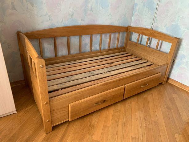 Кровать детская деревянная 90*180 б/у