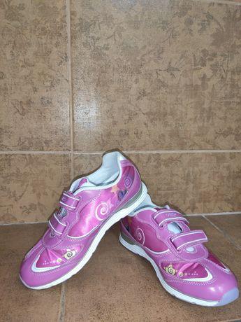 кроссовки со светодиодами GEOX 34 р.