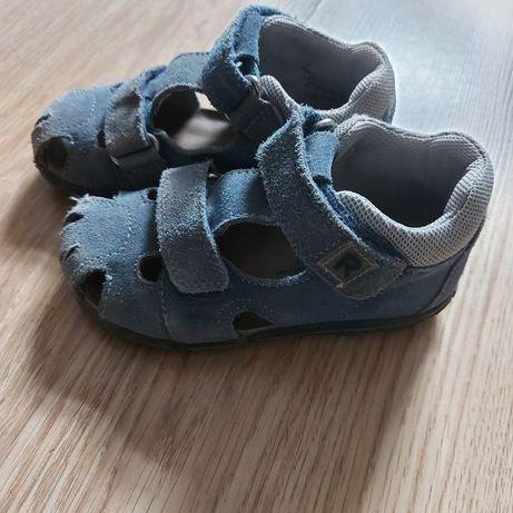 Oddam skórzane sandałki rozmiar 26
