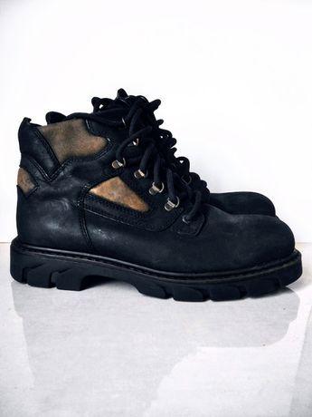 Nowe buty Landrover, ocieplane, nubuk