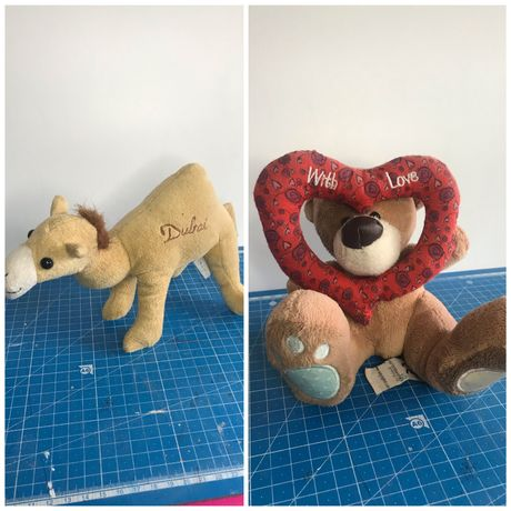 Плюшевые игрушки животные разных брендов