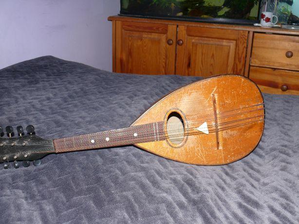 Przedwojenna mandolina koncertowa ośmiostrunowa