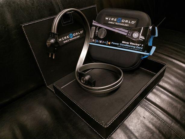 WireWorld Silver Electra kabel zasilający Pełna oferta TransAudio HiFi