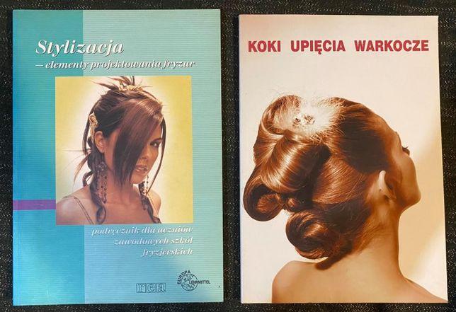 2 książki fryzjerskie - cena za całość