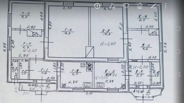 ПРОДАМ будинок площею 94 кв.м. на Вінницьких хуторах