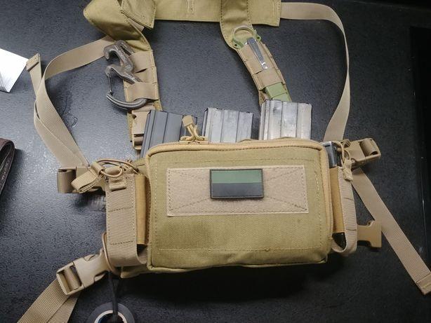 Mini Chest rig kamizelka taktyczna ASG primal Haley D3CR karabin m4 AK