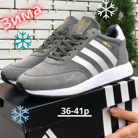 Зимние кроссовки Adidas Iniki (УНИСЕКС) ботинки Адидас Инки 8 ЦВЕТОВ