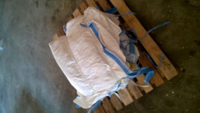 Worek Big Bag Wymiar: 90/90/125 cm ! sól drogowa !