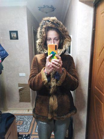Куртка дублёнка в дар