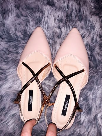 Baleriny, sandały