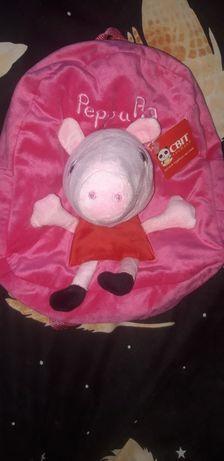 Рюкзак. портфель. сумка. Peppa Pig. Пепа.