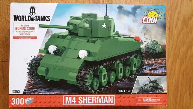 Cobi M4 SHERMAN, klocki czołg, Nowe!