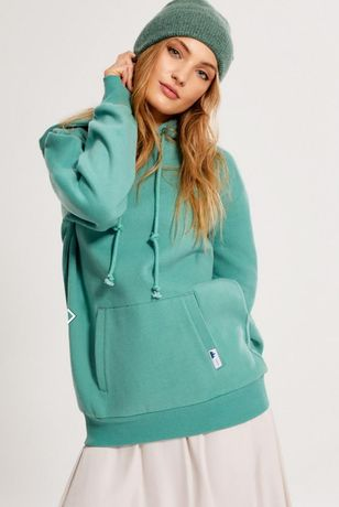 Diverse Bluza Dresowa z kapturem Oversize Dres Streetwear Kangurka M