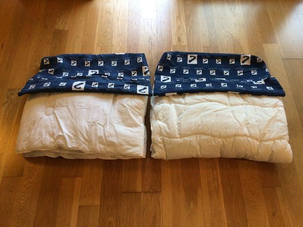 Edredon (dois) para cama crianca, como novos