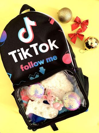 Рюкзак для школы, прогулки Tik Tok, Likee, Instagram