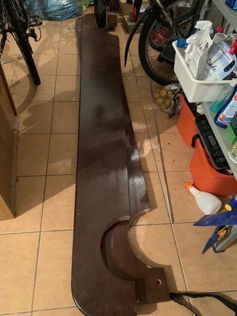 Półka drewniana 2-elementowa