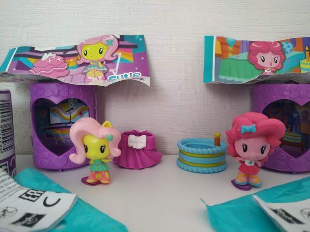 My little pony Cutie mark crew equestria girls Флаттершай Пинки Пай 2