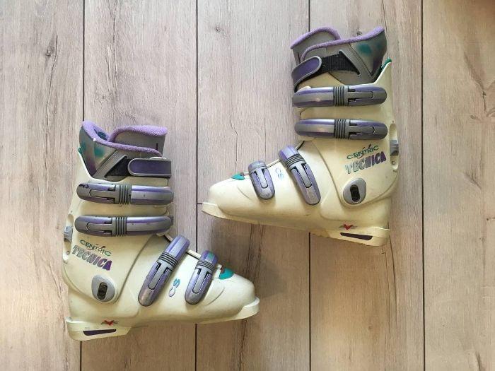Ботинки лыжные Tecnica Centric 39 (горнолыжные) Ужгород - изображение 1
