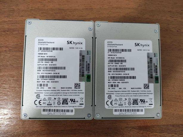 "НОВЫЕ HP SATA SSD диски SK Hynix 1.92TB 6G 2,5"" Гарантия!"