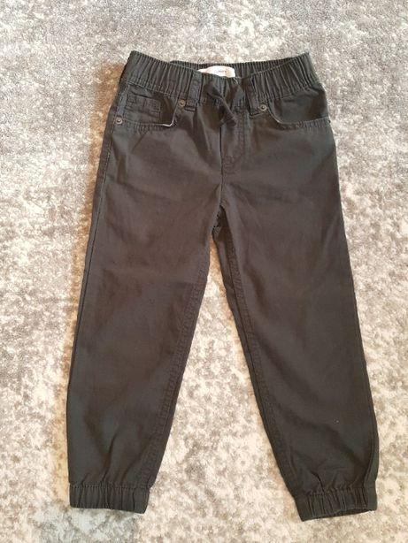Spodnie Jogger Levis ciemny brąz bawełna