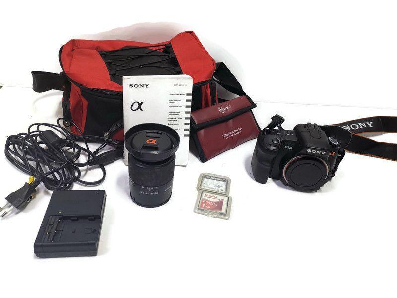 Aparat Sony DSLR-A200 komplet Bydgoszcz - image 1