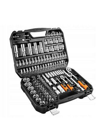 Zestaw kluczy nasadowych 110 szt Neo Tools 08-666