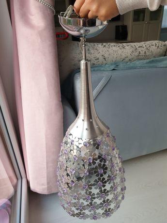 Lampa Żyrandol na jedną żarówkę