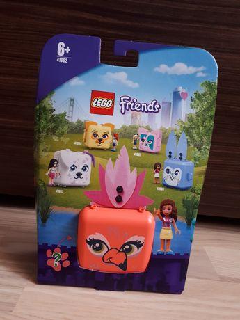 Nowe Lego Friends Kostka Olivii z flamingien 41662
