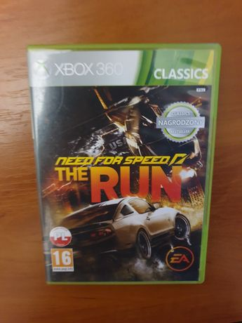 Need For Speed The Run gra oryginalna xbox 360