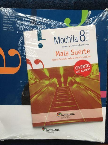 Mochila 8º ano, Espanhol - 3º Ciclo do Ensino Básico - Libro del Prof.