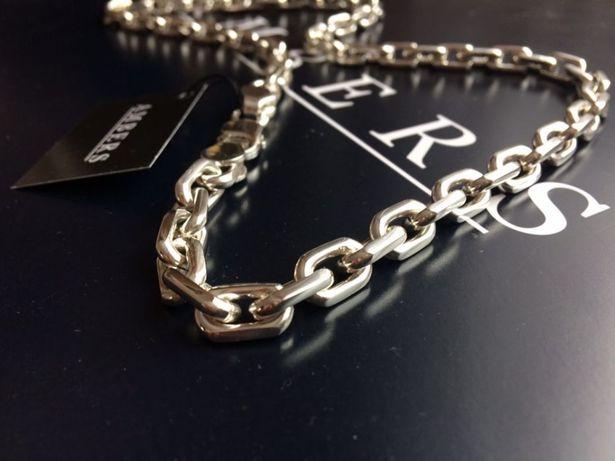 Серебряная цепочка ЯКОРЬ 166 грамм