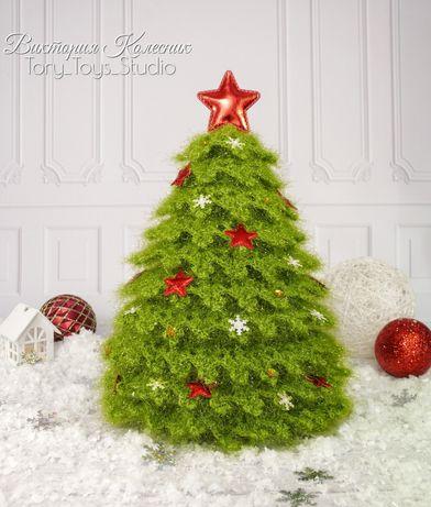 Елка елочка сувенир новогодний декор игрушки на елку