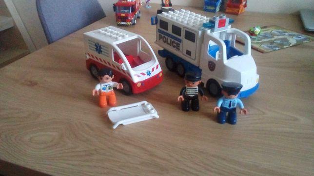 Lego Ambulans i Policja