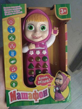 Інтерактивна іграшка маша, интерактивная игрушка