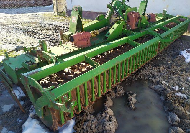 Amazone Kg 603 brona aktywna, agregat 2006r. 6 metrów
