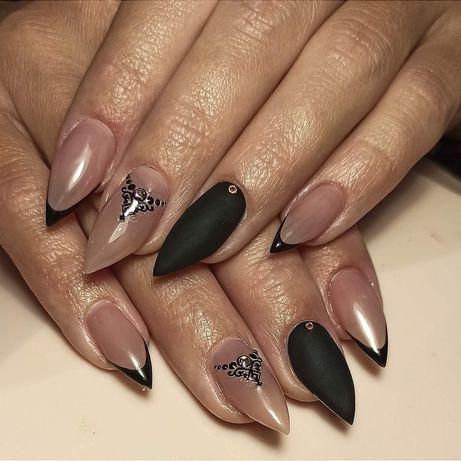 Наращивание, коррекция нарощенных ногтей, покрытие ногтей гель-лаком