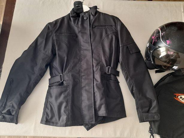 Casaco de moto + Capacete