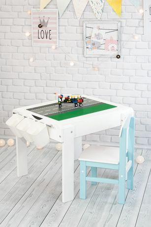 Столик детский световой развивающий лего песочница планшет