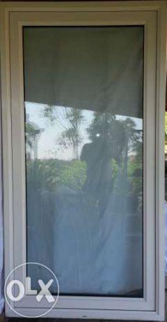 Janela (Porta) terraço esquerda (PVC) branco