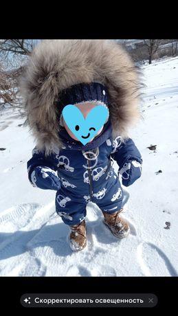 Продам детский зимний комбинезон glamour kids clothes
