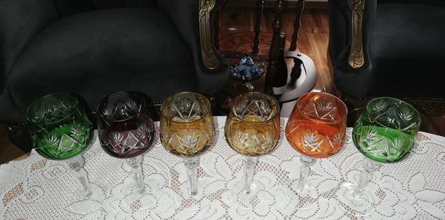 Kieliszki kryształowe kolorowe reymery wysyłka .