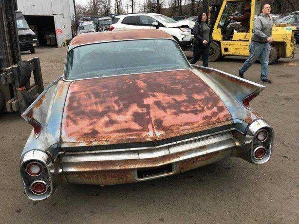 Cadillac  1960  Tylnia pokrywa Bagażnika