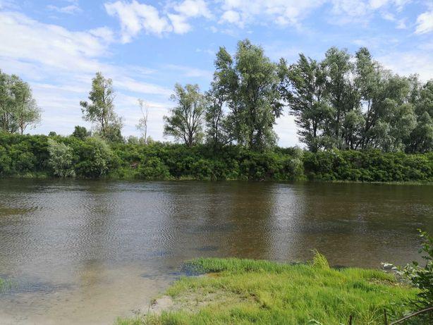 Срочно участок под застройку, первая линия озера, рядом река